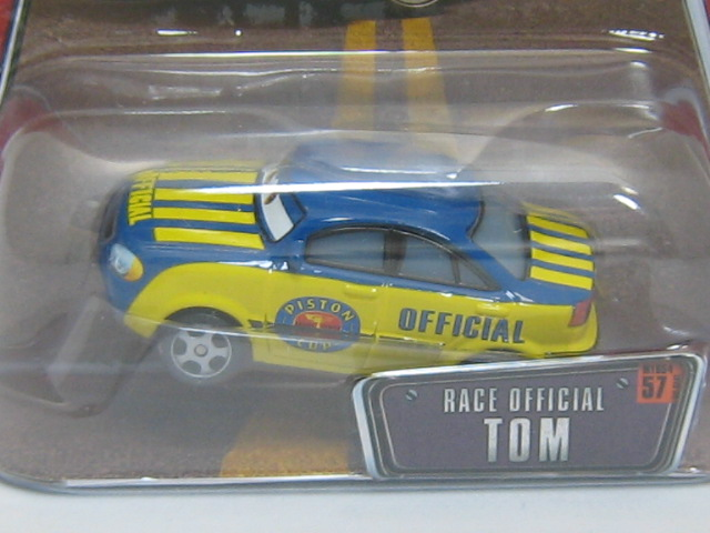 Cars #57 RACE OFFICIAL TOM-1